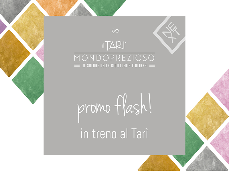 Promo Flash: in treno al Tar�