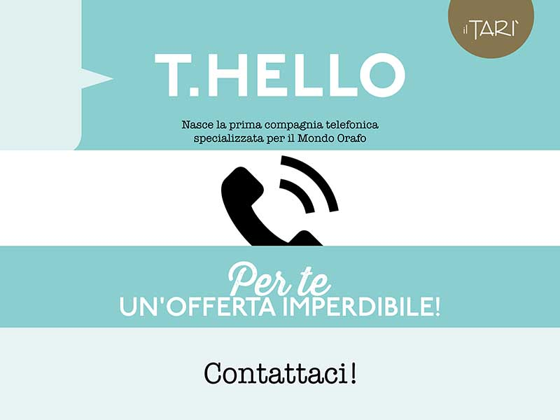 T.Hello -  offerta imperdibile