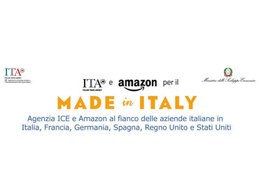 Agenzia Ice e Amazon : favoriamo il digital export
